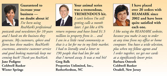 Real Estate Marketing Testimonials