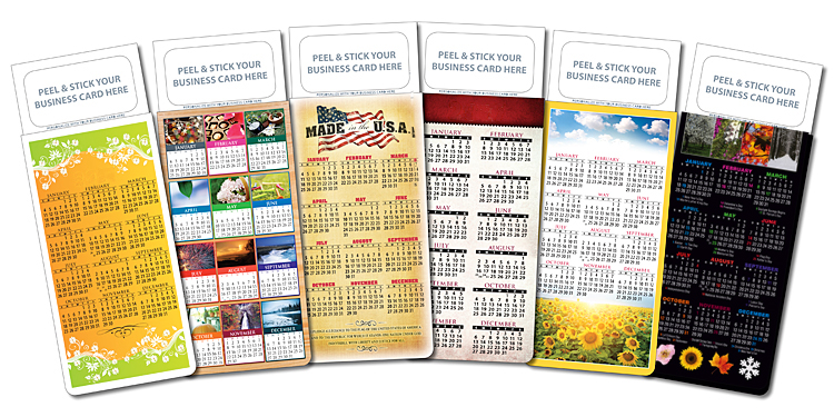 Real estate peel n stick business card calendars realtor calendar reheart Choice Image