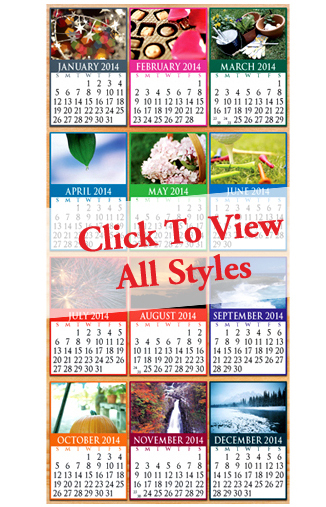 Calendars: Peel-N-Stick Stock Calendars