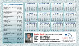 Real Estate Jumbo Postcard Calendars