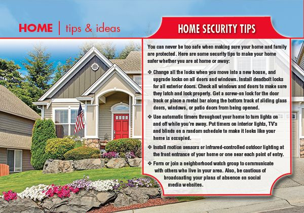 Home Tips & Ideas: Home Security Tips Home Security Tips on home beauty tips, home security companies, mortgage tips, security systems, security cameras, alarm systems, home hacks, home security equipment, home alarm systems, security alarms, home access control, home software, home hiding places for valuables, home safety tips, home electrical wiring tips, home alarms, burglar alarms, wireless home security, business tips, home security alarm systems, surveillance cameras, wireless home security system, diy tips, home selling tips, dance tips, home security company, home security cameras, interior decorating tips, home security alarm, home products, golf tips, insurance tips, diy home security,