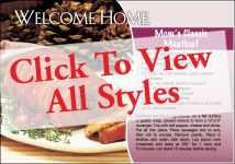 Recipes: Welcome Home