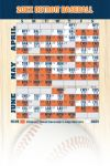 Magnetic Business Card Real Estate Baseball Schedules  |Realtor Tools