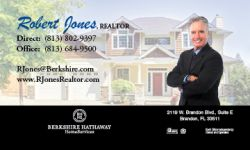 Laminated Business Cards for Real Estate