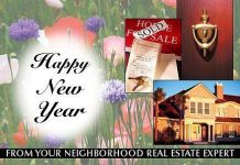 Holiday Cards: Real Estate New Year