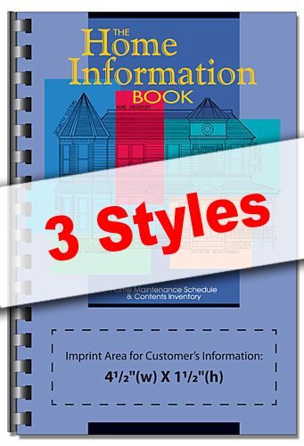Promotional: Home Information Books