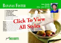 Recipes: Promote YOU Twice <br>Just Desserts