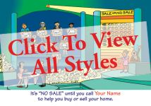 Comic Real Estate Post Cards | ReaMark Real Estate Marketing