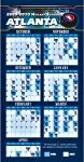 Hockey Magnetic Schedules