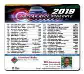 Real Estate Sports Schedules Magnets | ReaMark