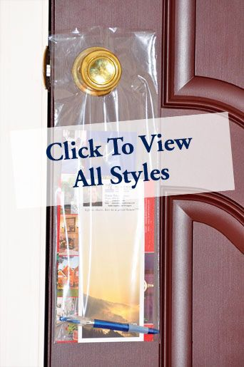 Real Estate Door Hanger Bags | ReaMark