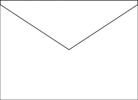 ReaMark Products: Blank Stapled Wall Cal. Envelope (10.5 x 11)