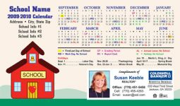 Real Estate School Calendars
