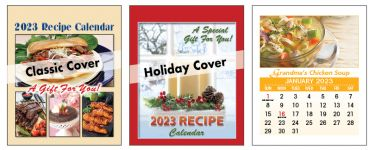 Calendars: Recipe Magnetic <br>Tear-Off Calendars