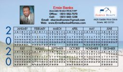 Magnetic Calendars for Real Estate